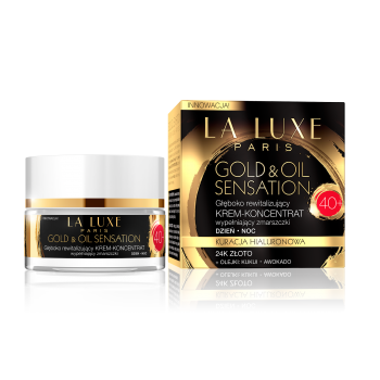 GOLD&OIL SENSATION cream 40+ day/ night
