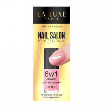 Moisturizing nail polish 6 in 1, French manicure