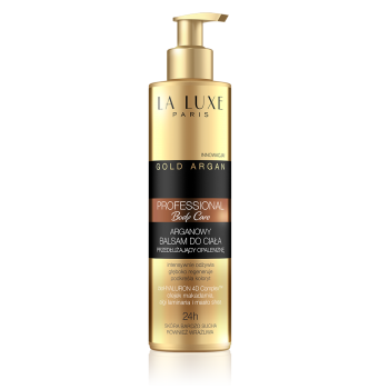 Argan body lotion extended tan
